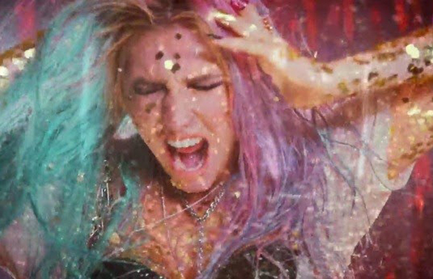 "Ke$ha gets dirty on ""Dirty Love"""