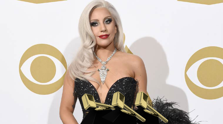 Lady Gaga is all smiles with her Ninnyhammys
