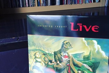 "Now Playing: ""Throwing Copper"" by Live"