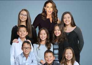 Caitlyn Jenner and the Gosselin Kids