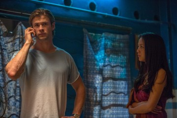 Chris Hemsworth and Wei Tang in a scene from Blackhat
