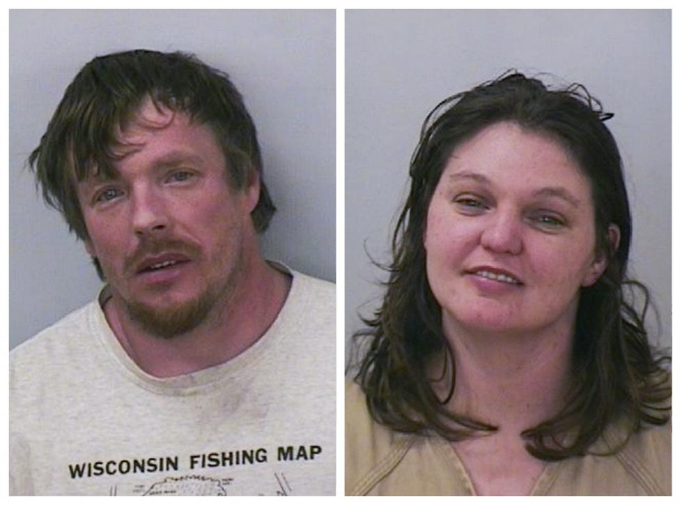Polk County Sheriff's Department photos of Jason Robert Roth and Amanda Rose Eggert