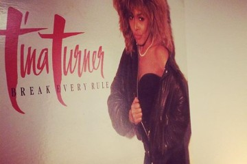 "Now Playing: ""Break Every Rule"" by Tina Turner"