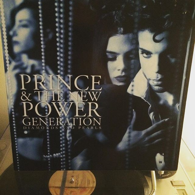Now-Playing-Diamonds-And-Pearls-by-Prince-Released-in-1991-just-before-he-began-his-tumultuous-battl