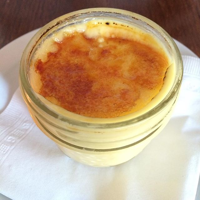 Now-Eating-Creme-brulee.-OMG-this-was-the-best-Creme-brulee-Ive-ever-had.-Ill-need-to-change-into-my