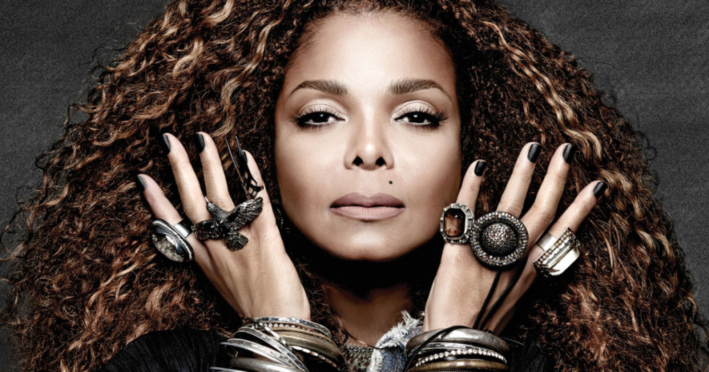 Janet Jackson in a promotional still for her Unbreakable album