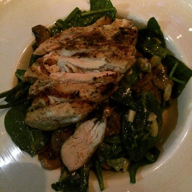 now-eating-warm-spinach-salad-with-blue-cheese-almonds-and-grilled-chicken-breast-1
