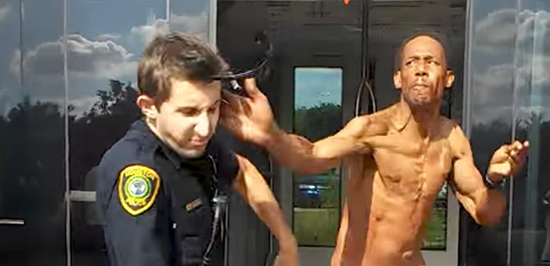 man_slaps_cop_houston
