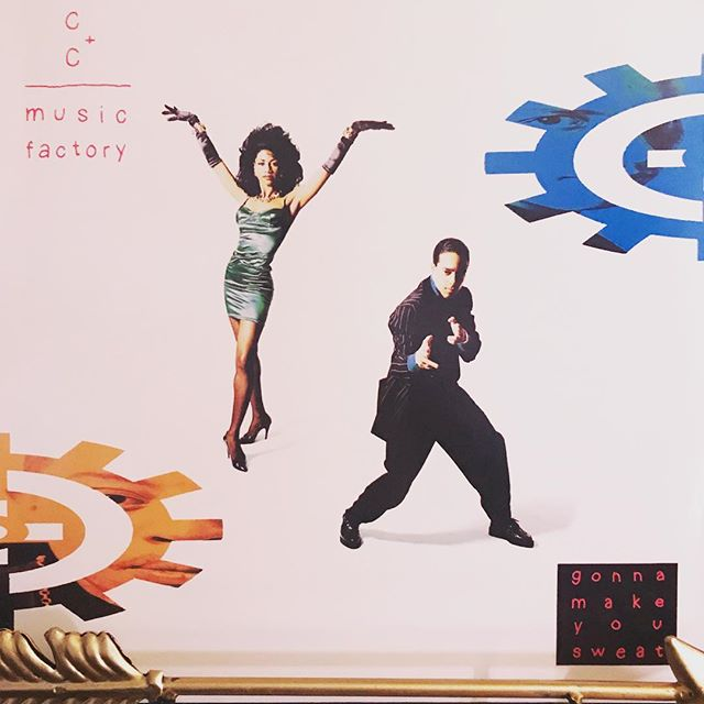 """now-playing-""""gonna-make-you-sweat""""-by-cc-music-factory-1990.-a-little-lip-syncing-controversy-sp"""
