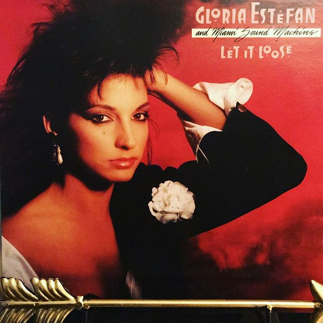 """now-playing-""""let-it-loose""""-by-gloria-estefan-miami-sound-machine-1987.-this-album-her-tenth-with"""