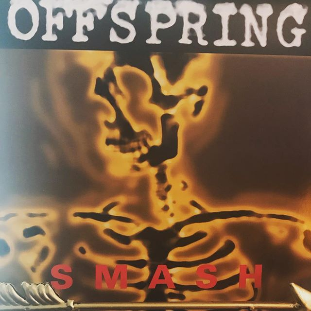 """now-playing-""""smash""""-by-the-offspring-1994.-the-california-band's-third-album-is-the-one-that-o"""