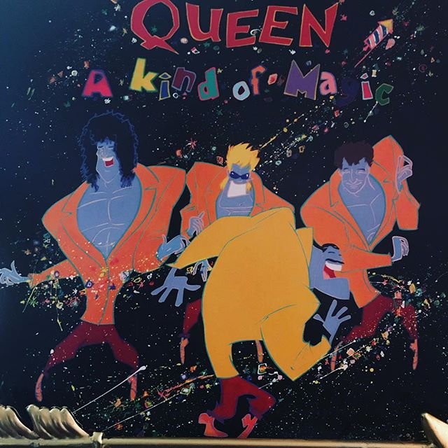 "now-playing-""a-kind-of-magic""-by-queen-1986.-the-legendary-band's-12th-studio-release-was-also"