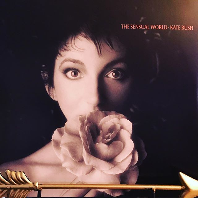 "now-playing-""the-sensual-world""-by-kate-bush-1989.-the-legendary-singer's-follow-up-to-her-lan"