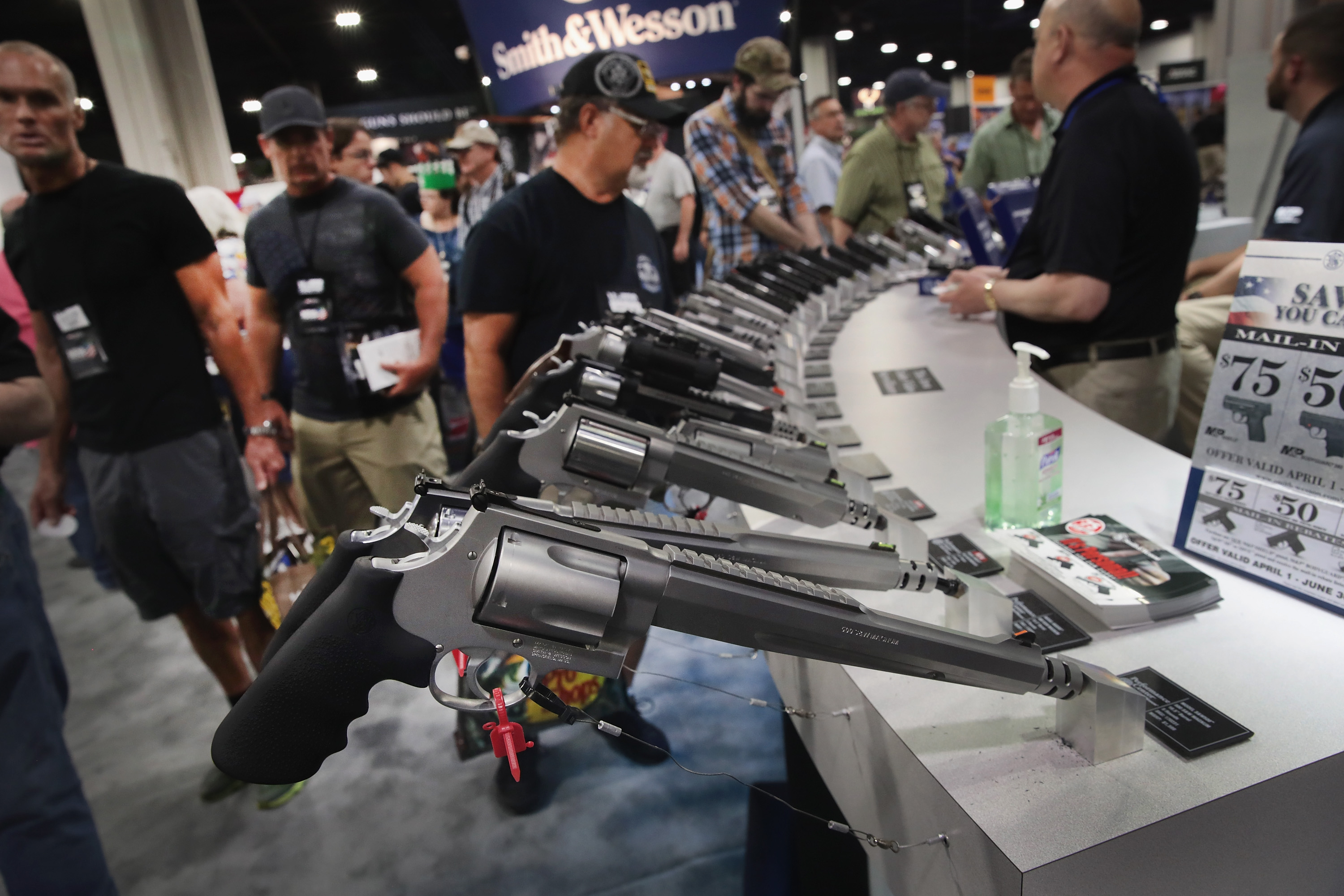 NRA Celebrates Firearms at Annual Meeting In Atlanta